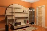 оранжевые оттенки в дизайне