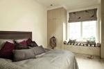 простой минимализм в спальне