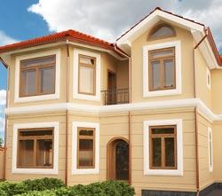Планировка просторного двухэтажного дома