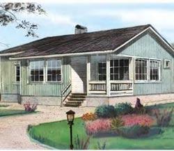 План и проект одноэтажного дома 6 на 9