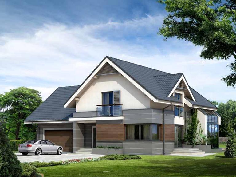 Проект загородного дома от 200 кв. м.