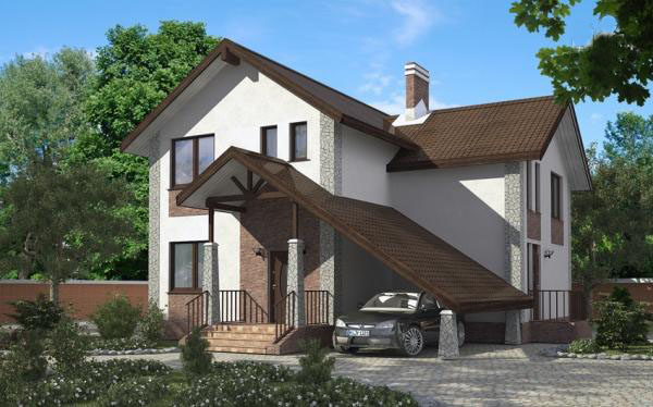 Проект и планировка дома  для большой семьи