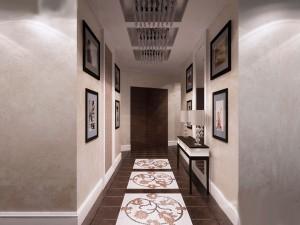 коридор на втором этаже дома
