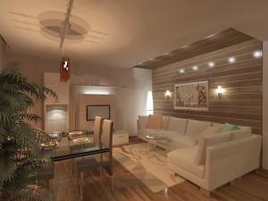 дизайн интерьера кухни с гостиной в доме