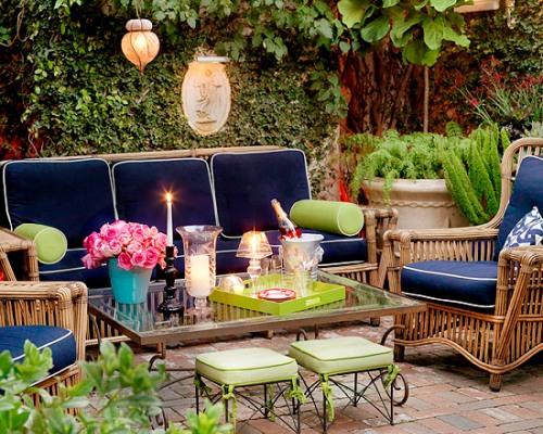 мебель на террасе загородного дома