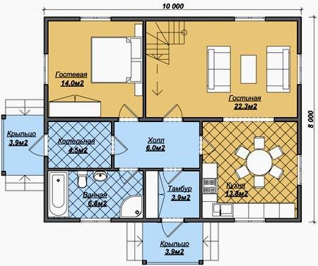 Как сделать планировку дома 9-12