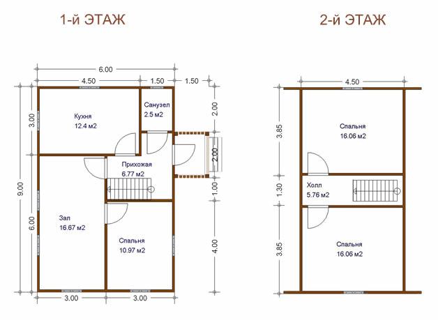 Схема планирования дома