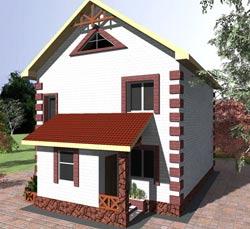 Варианты планировки двухэтажного дома 100 кв. м.