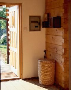 тамбур деревянного дома