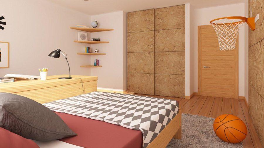 Дизайн одной из комнат дома
