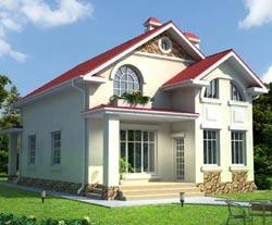Удобная планировка дома с сауной