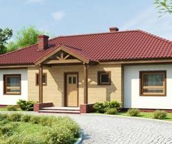 Планировка одноэтажного дома 9х13 на большом участке