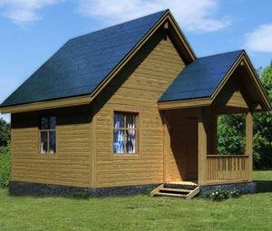 Планировка небольшого дачного дома