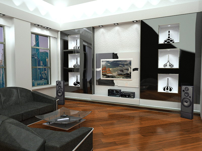 мебель в гостинной