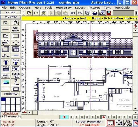 Для планов архитектурных программу