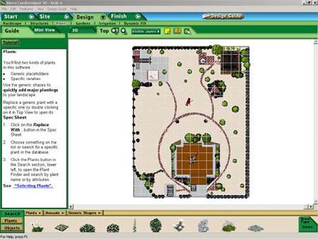 Программа дизайна земельного участка