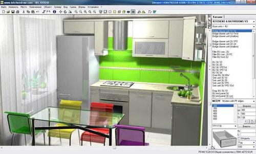 3д дизайн кухни онлайн бесплатно самостоятельно