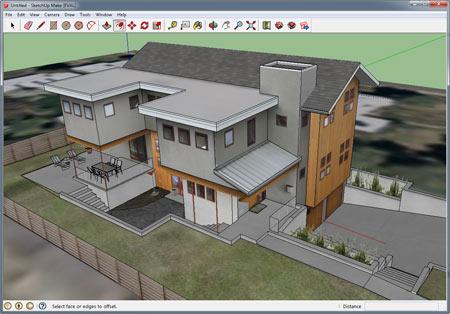 Разработка проекта двухэтажного дома