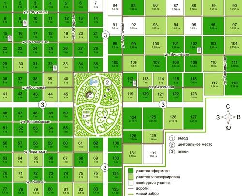 план дорожной сети