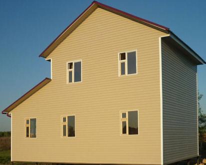 двухэтажный каркасный дом 6x6