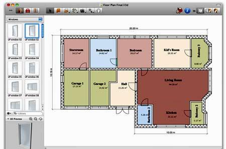 планировка дома FloorPlan3D