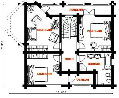как нарисовать план дома на компьютере