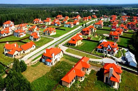 проект коттеджного поселка
