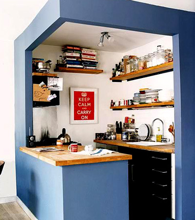 план маленькой кухни