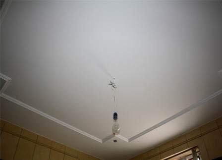 побелка потолка кухни
