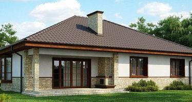 дачный  дом 11х12