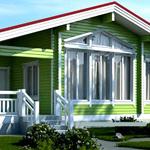 Планировка одноэтажного дома 9х9