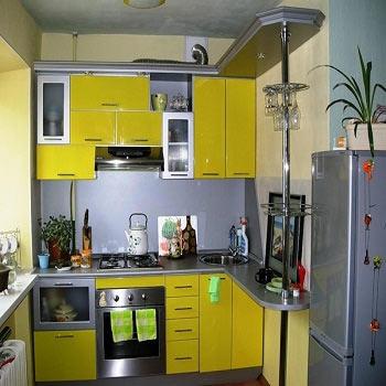 цветовая палитра кухни 6 метров