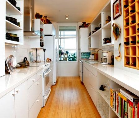 кухня две линии