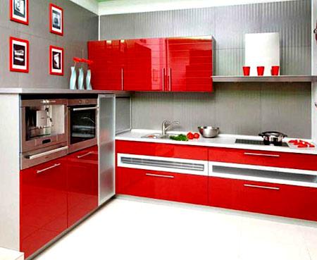 интерьер кухни 9 м
