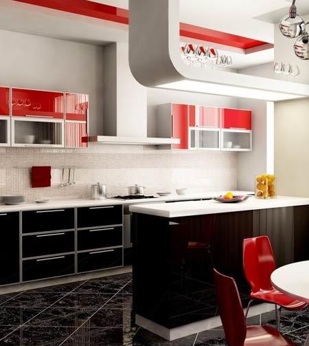 интерьер 9 метровой кухни