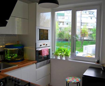кухня 6 метров