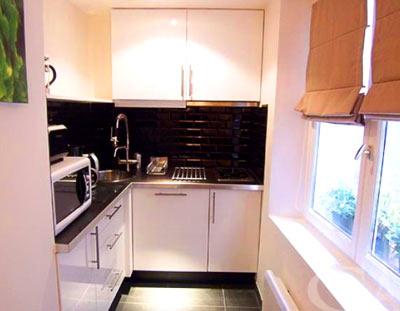 узкая кухня 6 м
