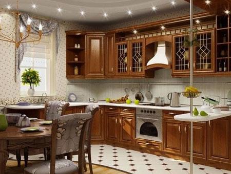 кухня классический стиль