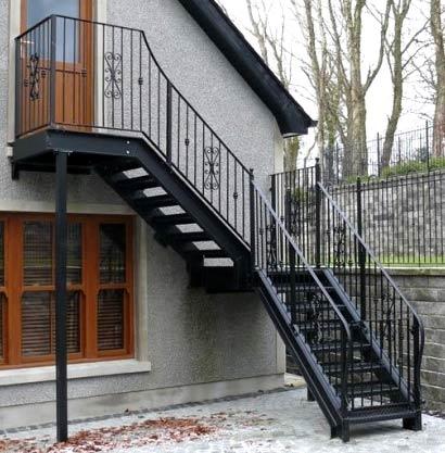 стационарная лестница