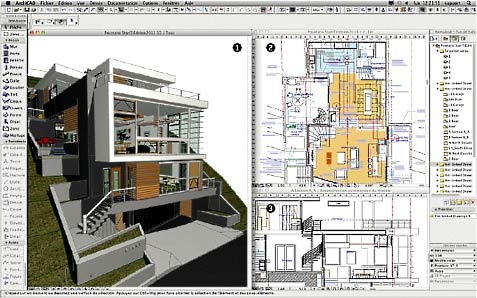 ArchiCAD  архитектурный план