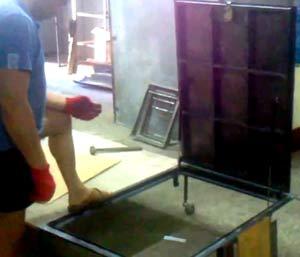 изготовление люка