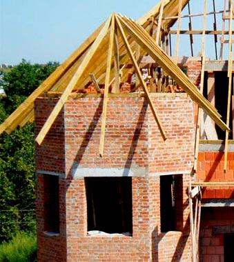 Крыша для эркера схема