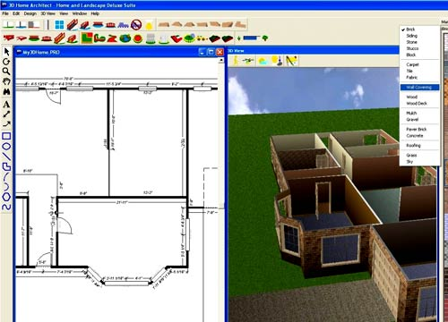планировка Home&Landscape Design