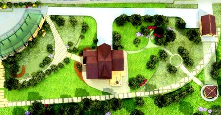 планировка загородный участок