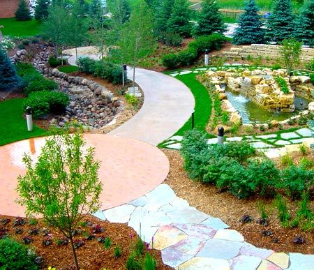 садовый участок планировка