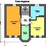 Планировка современного дома с подвалом