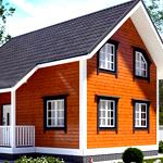 Проекты домов 6х8 с мансардой