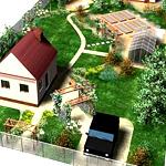 Планировка территории дачного земельного участка