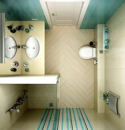 ванная комната душевая кабина