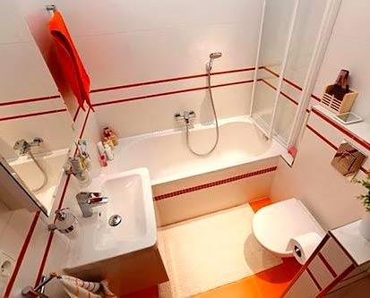 ванная комната 4 метра